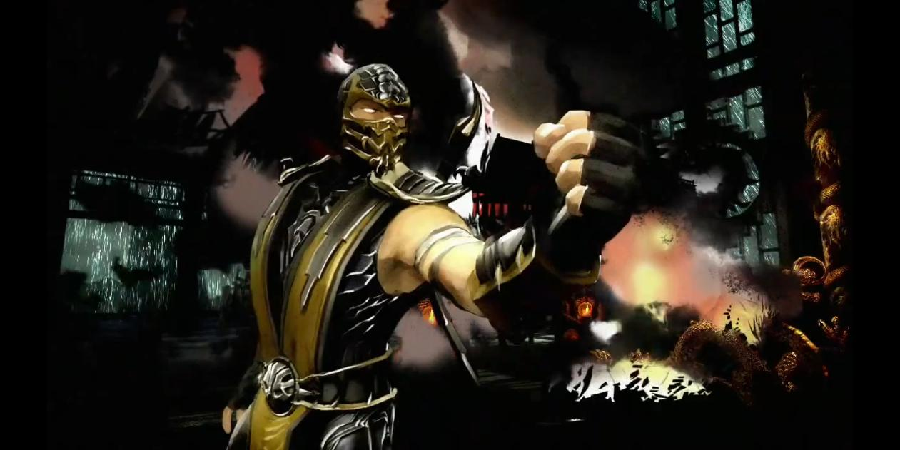 Scorpion Mortal Kombat (Видео)