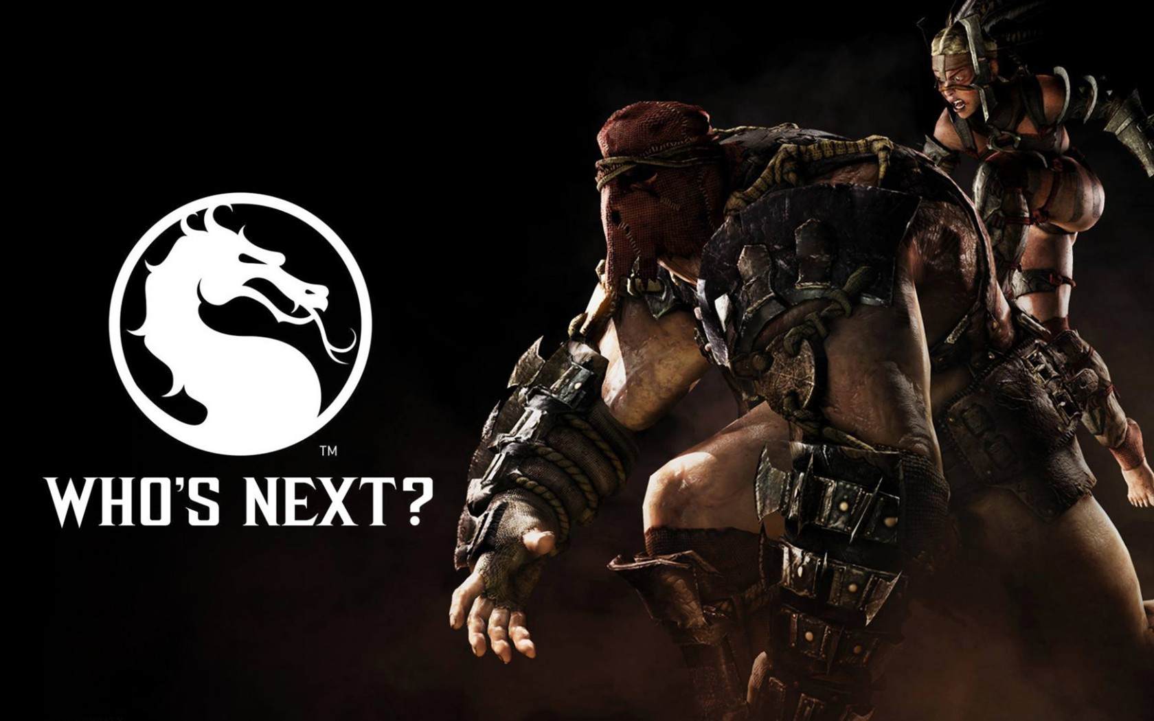 "Mortal Kombat обои ""Who is next"""