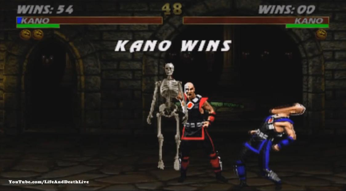 Ultimate Mortal Kombat 3 видео - Кано фаталити, анималити, бабалити, френдшип