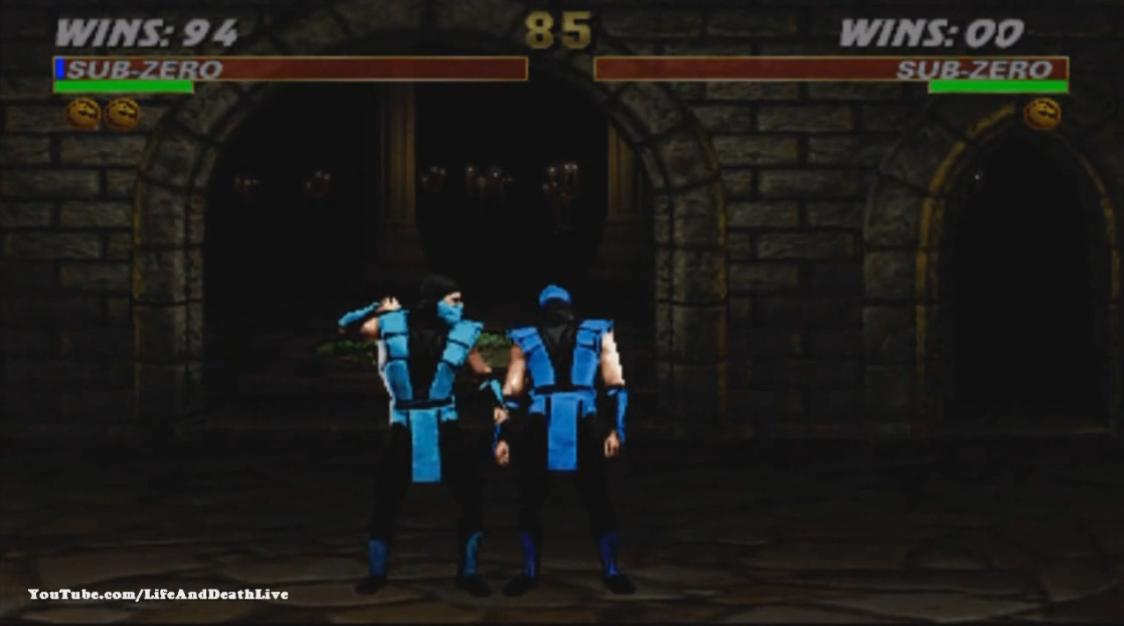 Ultimate Mortal Kombat 3 видео - Саб-Зиро фаталити, анималити, бабалити, френдшип