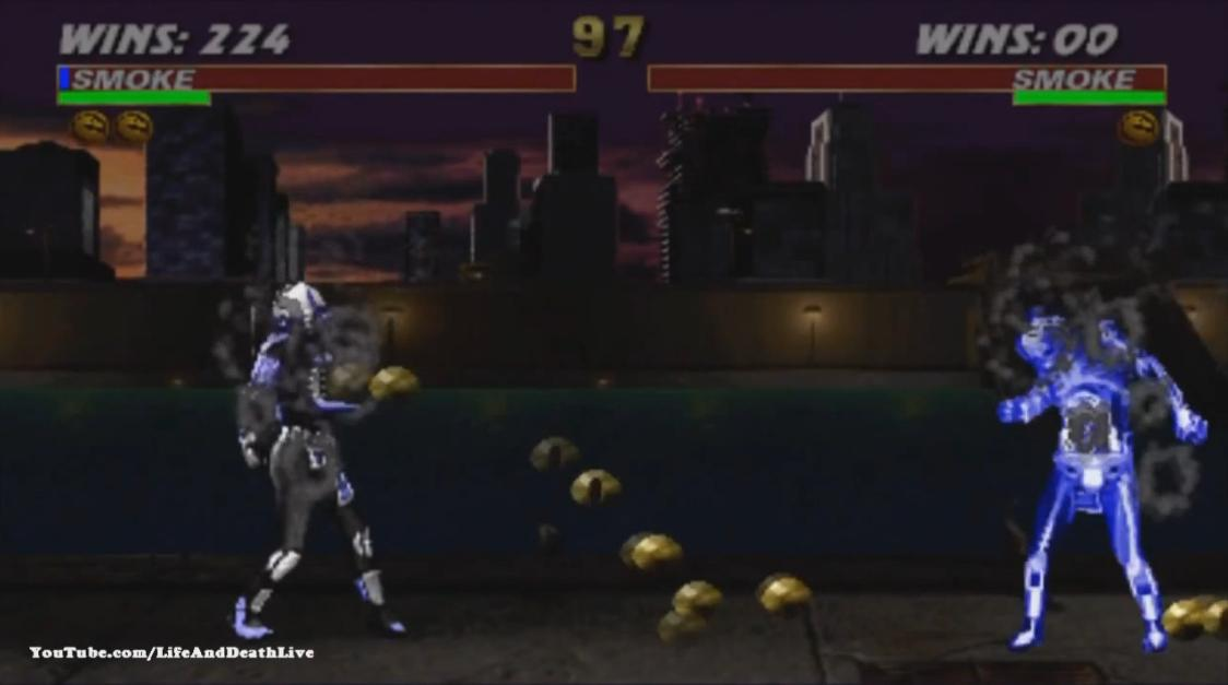Ultimate Mortal Kombat 3 видео - Смоук фаталити, анималити, бабалити, френдшип