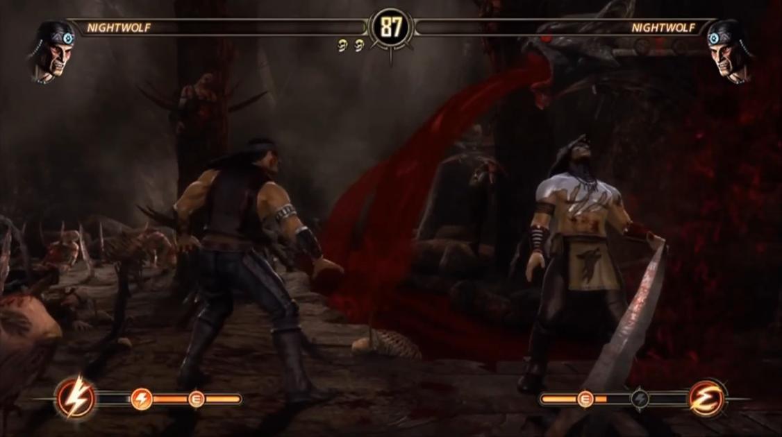 Mortal Kombat 9 2011 fatality и babality (Фаталити и Бабалити