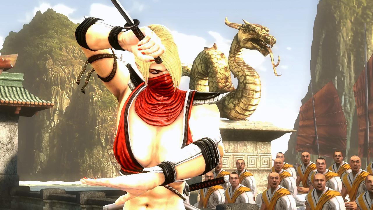 """Скачать Mortal Kombat 9: Komplete Edition """"Скин: Блондинка ... Скарлет Мк"""