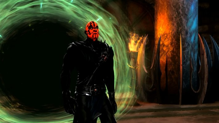 "Скачать Mortal Kombat 9: Komplete Edition ""DLC Darth Maul"" бесплатно"