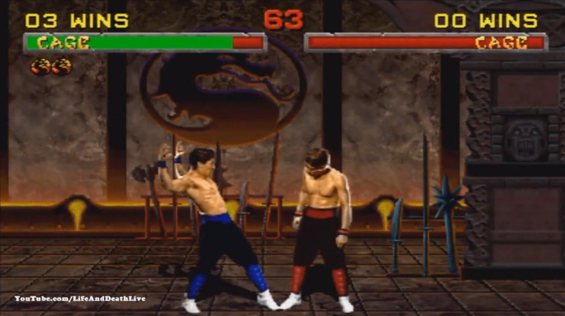 Mortal Kombat 2 Johnny Cage Фаталити, Бабалити и Френдшип