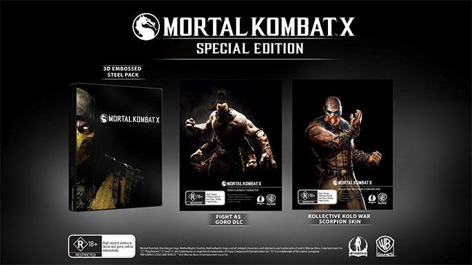 Костюм Скорпиона Kold War (Холодная Война) в Mortal Kombat X