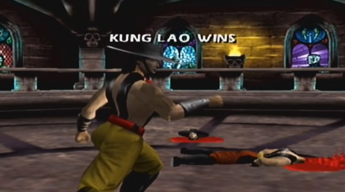 Mortal Kombat 4 Gold Кунг Лао фаталити видео