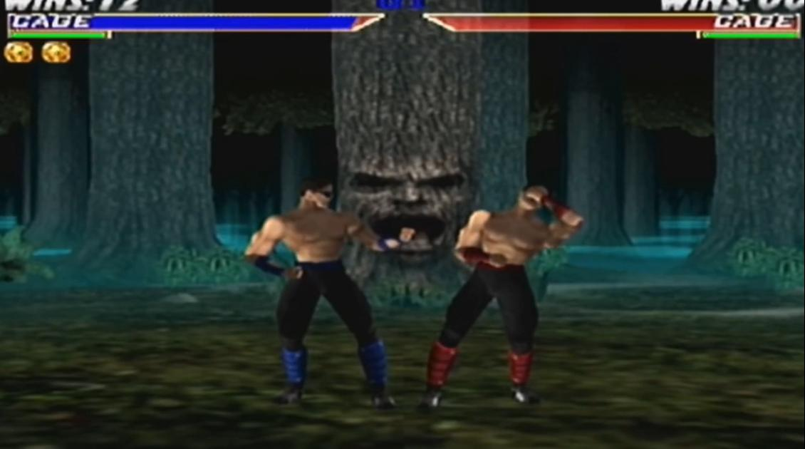 Mortal Kombat 4 Gold Джонни Кейдж фаталити видео