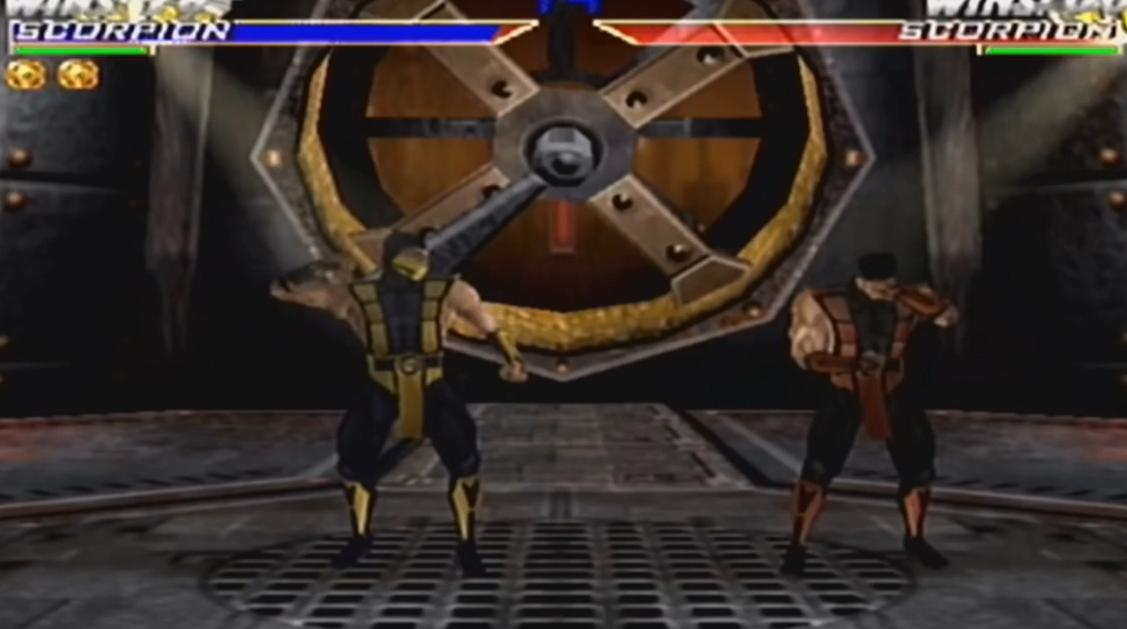 Mortal Kombat 4 Gold Скорпион фаталити видео