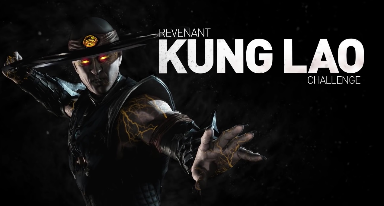 Призрак Кунг Лао Mortal Kombat X Mobile видео